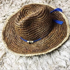 MICHAEL STARS Charmed Cowboy Straw Hat